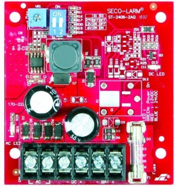 Imagen de SECO-LARM FUENTE 6/12/24V 2A (1.5 A) ST-2406-2AQ